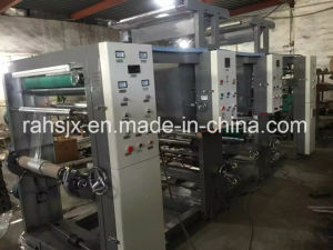 Double Colors Gravure Printing Plastic Film Roll Machine pictures & photos