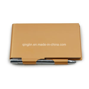 Wholesale Metal Lady′s Business Name Card Holder pictures & photos
