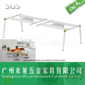 High Quality Office Furniture Wooden Table Metal Leg pictures & photos