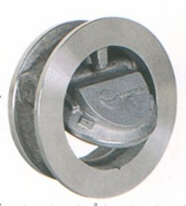 Wafer Tilting Disc Type Check Valve pictures & photos