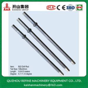 B22 7 Degree Tapered Short Drill Rod for Stone Drilling pictures & photos