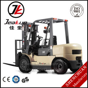 Shanghai Jeakue 3/3.8/4t Diesel Forklift Truck pictures & photos