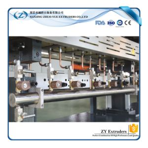 High Torque Twin Screw Extruder for Plastic Granules pictures & photos