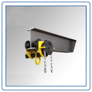 Lifting Manual Push Beam Plain Trolley pictures & photos
