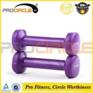 Procircle Wholesale Shiny Finish Colored Vinyl Dumbbell pictures & photos