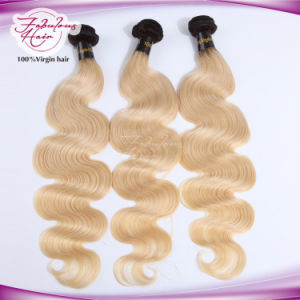 Virgin Hair Body Wave 1b Top /613# Human Hair Extension pictures & photos