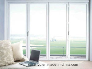 Aluminium Frame Tempered Glass Sliding Window and Door pictures & photos