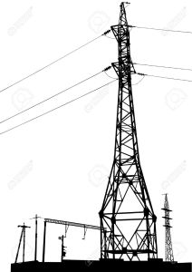 Power Transmission Pipe Tower for Overseas Project pictures & photos