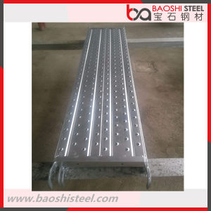 Anti-Slip Scaffolding Steel Plank /Catwalk with Hook pictures & photos