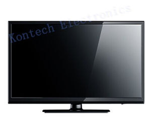 24 Inch Solar TV AC/DC with Black Cabinet pictures & photos