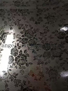 Suqure Pattern Embossed Mirror Stainless Steel Coil for Decorative Door Panel Price pictures & photos