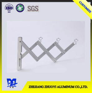 Heavy Duty Liftable Aluminum Retractable Push Pull Folding Hanging Clothes Rack pictures & photos