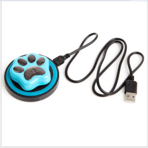Smart Dog Cat Pet Locator Waterproof IP66 WiFi Wireless Charging Positioning Anti Lost pictures & photos