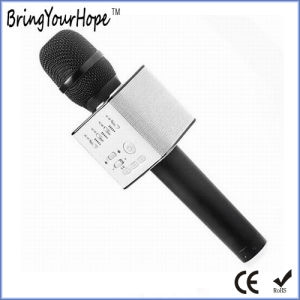 Q9 Style Handset Karaoke Microphone Bluetooth Speaker for Smart Phone (XH-PS-680S) pictures & photos