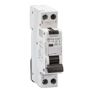 Electronic Type with Overcurrent Protection Circuit Breaker RCBO pictures & photos