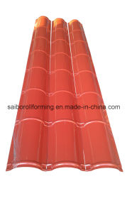 Color Steel Roof Ridge Cap Roll Forming Machine pictures & photos
