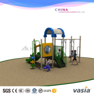 2016 Vasia Popular Plastic Outdoor Playground Equipment (VS2-160309-32) pictures & photos