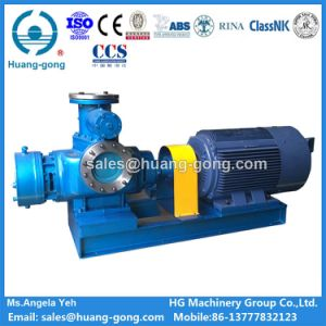 Stainless Steel Twin Screw Pump with Bulkhead Shaft pictures & photos