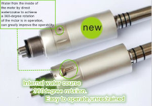 Internal Water Spray Low Speed Dental Handpiece with Special Design pictures & photos