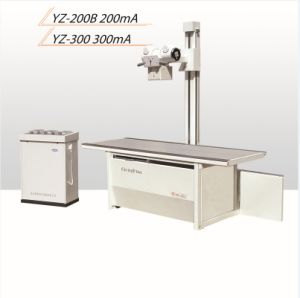 Yz-300 300mA Radiography Machine 0213 pictures & photos