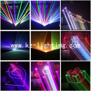 3W Multi Color Programmable Laser Light pictures & photos