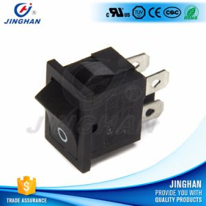 Kcd1-104 on-off 4 Pins Micro Rocker Switch T85 pictures & photos