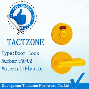 Popular Partitions Accessory Bathroom Cubicle Wc Toilet Plastic Knob Lock pictures & photos