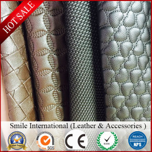 New Design High Quality Durable PVC Viny Decoration Artificial Leather for Car Seat Cover pictures & photos