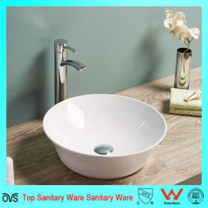 Newest Super Slim Thin Edge Ceramic Bathroom Counter Top Wash Basin pictures & photos