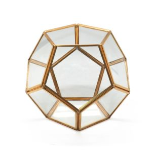 2017 Geometric Glass Terrarium for Flower pictures & photos