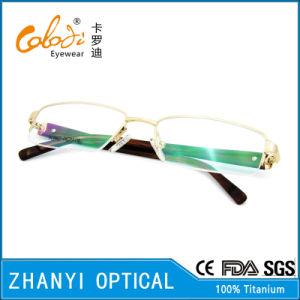 Latest Design Titanium Eyeglass (8324) pictures & photos