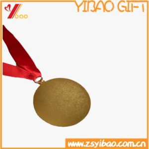 Plating High Quality Gold Lotus 3D Madal of Madallion Coin (YB-HR-48) pictures & photos