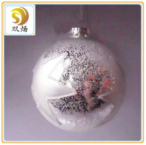 8cm Christmas Glass Ball pictures & photos