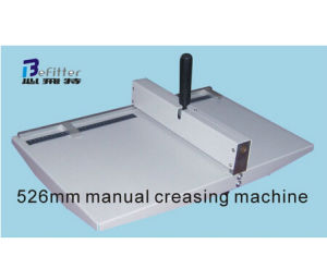 DC-12B 360mm 14inches Hand Paper Creasing Machine pictures & photos