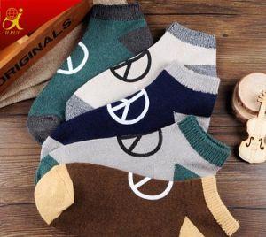 China Men Custom Grip Socks Fashion Pattern Funny Socks