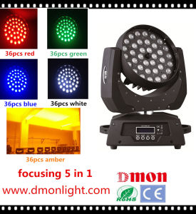 36*10W 4in1 LED Moving Head Light Focusing RGBW Light pictures & photos