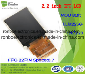 "2.2"" 176X220 MCU 8bit 22pin TFT LCD Screen for POS, Doorbell, Medical pictures & photos"