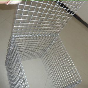 Anping Welded Galvanized Wire Mesh Gabion / Stone Wall Basket Gabion pictures & photos