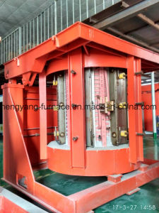 50kg to 30t Coreless Medium Frequency Induction Melting Furnace for Melting Aluminum Copper Gold Silver pictures & photos