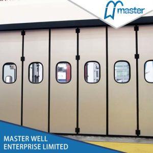 Good Quality Automatic Folding Door Sectional Door/Customized Folding Door pictures & photos