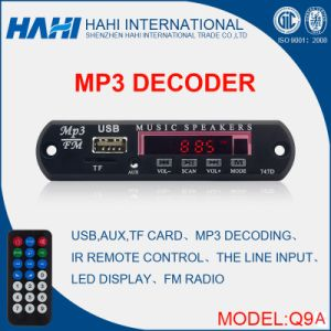 New MP3 Moudle USB/TF Card/FM Radio Decoder Board Module MP3 Player pictures & photos