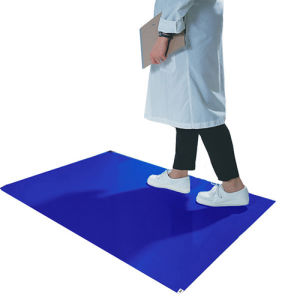 Disposable Cleanroom Sticky Mat Blue pictures & photos