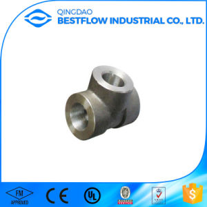 A105 Carbon Steel Threaded Forged Pipe Fittings pictures & photos