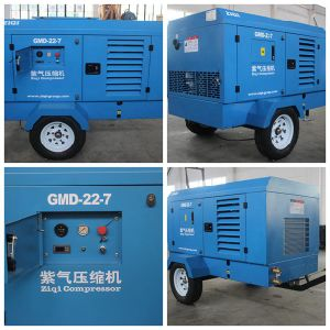 Diesel Portable Screw Air Compressor pictures & photos