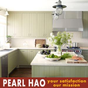 European Style Melamine Wood Kitchen Cabinet pictures & photos