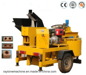 Qts1-20m Clay Brick Machine Mobile Interlocking Block Making Machine pictures & photos