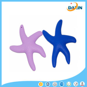 New Style Starfish Design Baby Teether Food-Grade Silicone Baby Teether pictures & photos