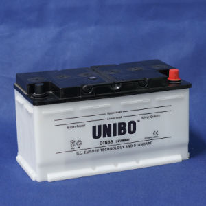 Auto Battery High Performance DIN88 12V88ah Dry Charged Car Battery pictures & photos