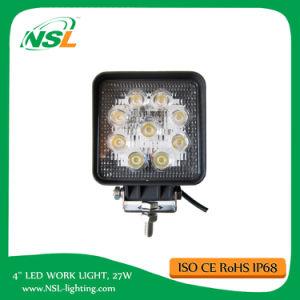 4inch 27W LED Work Light 12V Flood Spot off Road ATV Truck Driving Light Fog Lights pictures & photos