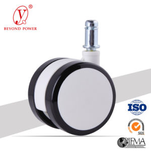 PVC 60mm Furniture Chair Castor Wheel Caster for Office Chair Casters pictures & photos